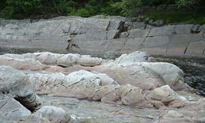 Rocks in River Tilt